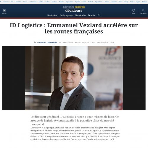 Portrait presse corporate